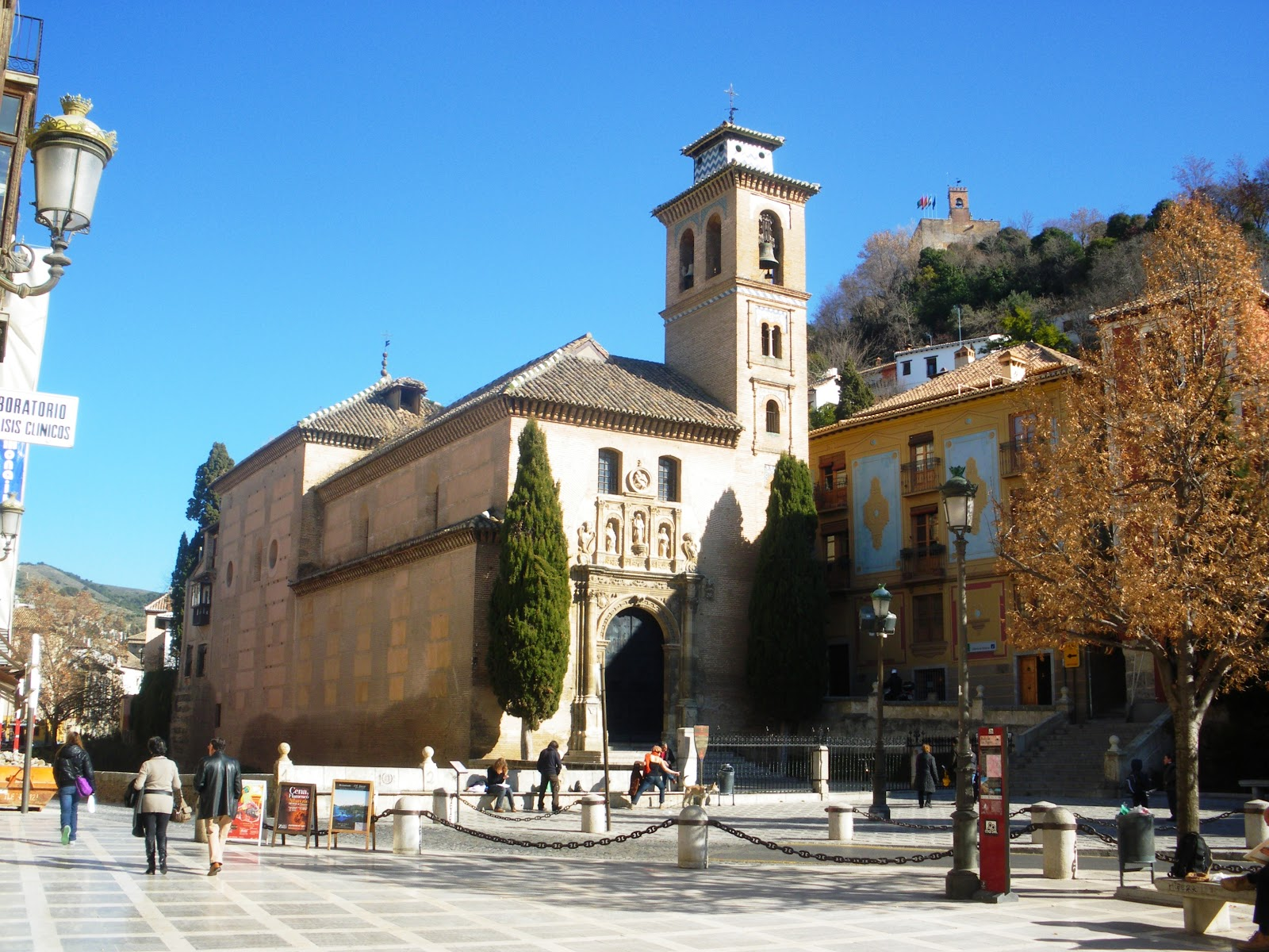 Plaza eliptica hras griego en Santa Fe-354