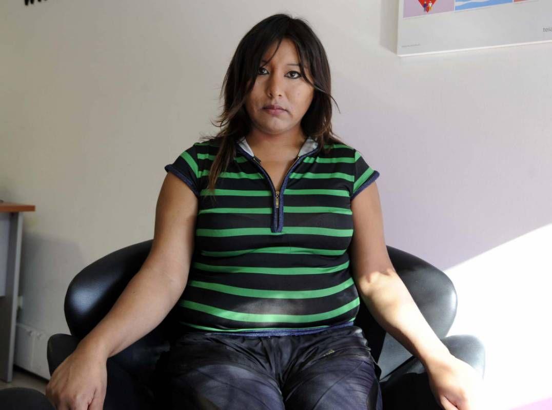 Travesti no profesional en La Pampa-801